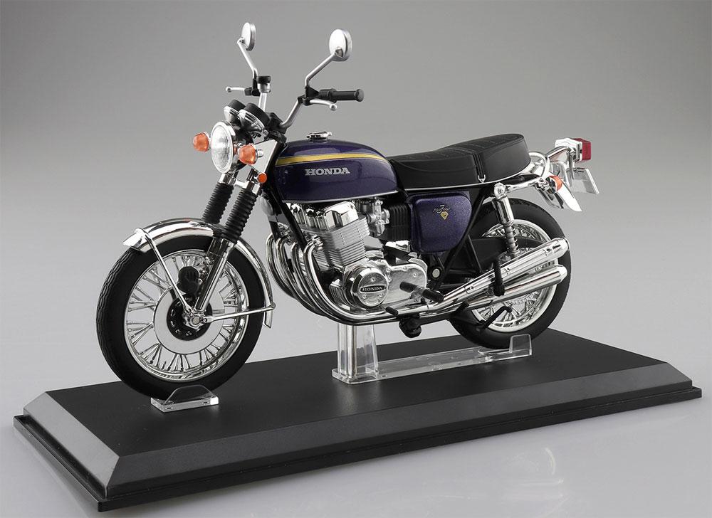 ホンダ CB750FOUR K2 パープル完成品(アオシマ1/12 完成品バイクシリーズNo.106594)商品画像_1