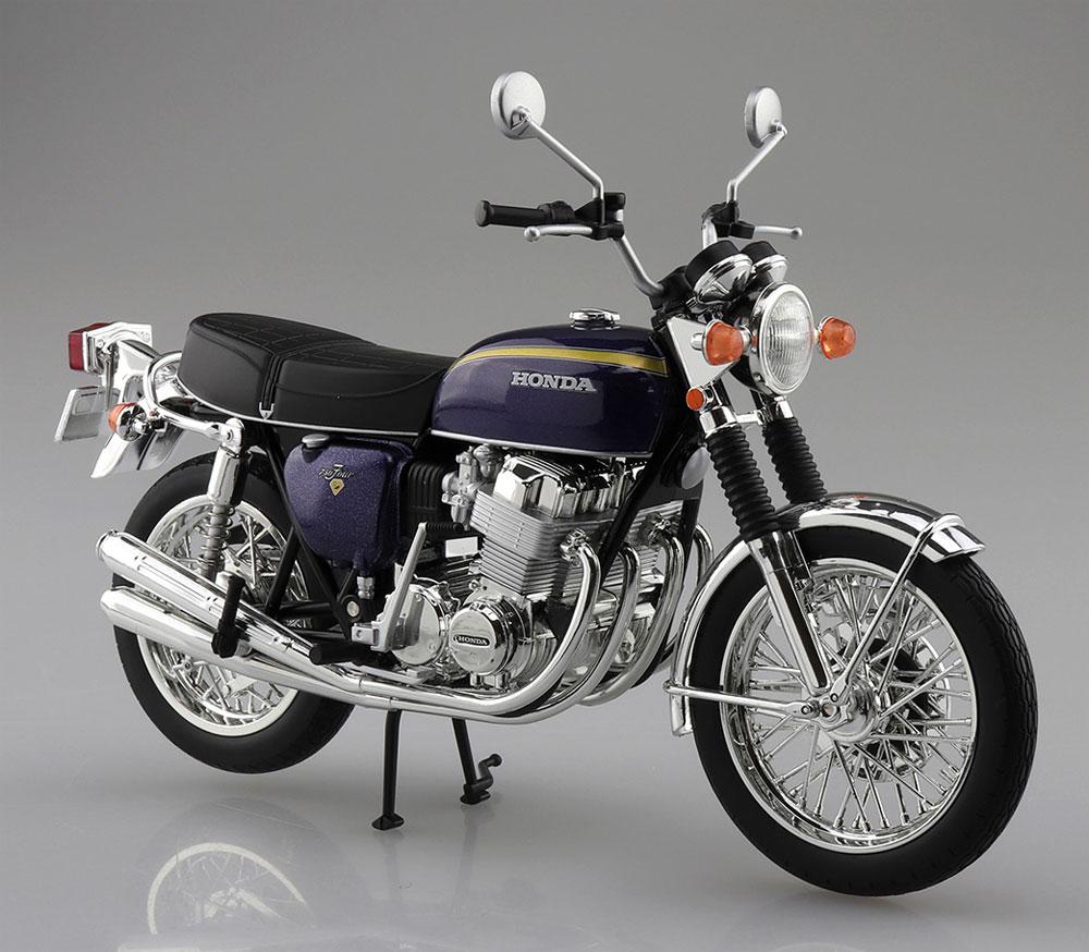 ホンダ CB750FOUR K2 パープル完成品(アオシマ1/12 完成品バイクシリーズNo.106594)商品画像_3