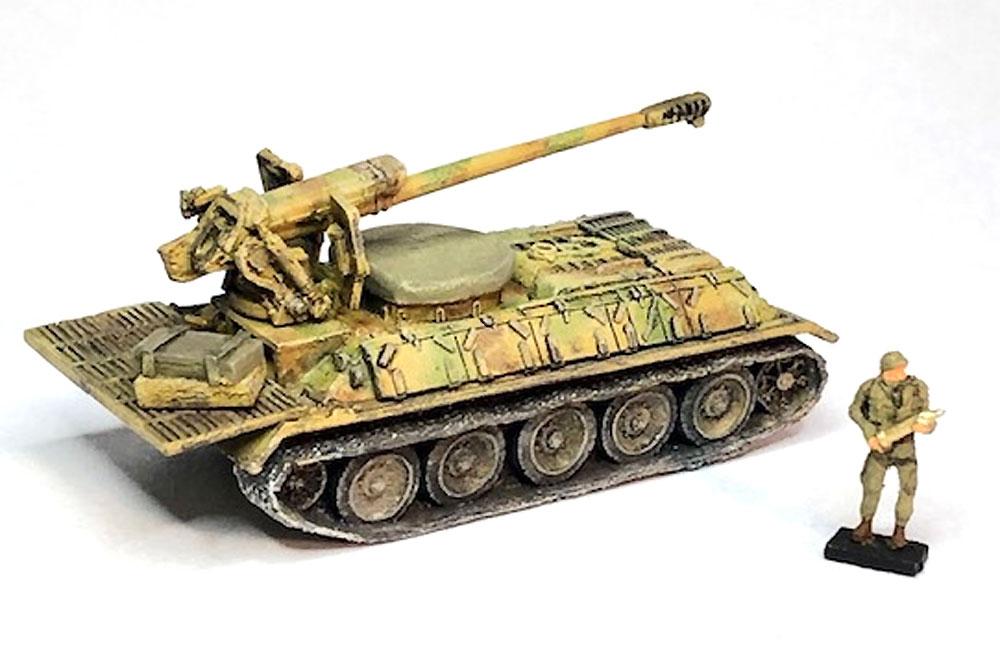 シリア陸軍 T-34/D-30 自走砲レジン(マツオカステン1/144 オリジナルレジンキャストキット (AFV)No.MTUAFV-113)商品画像_2