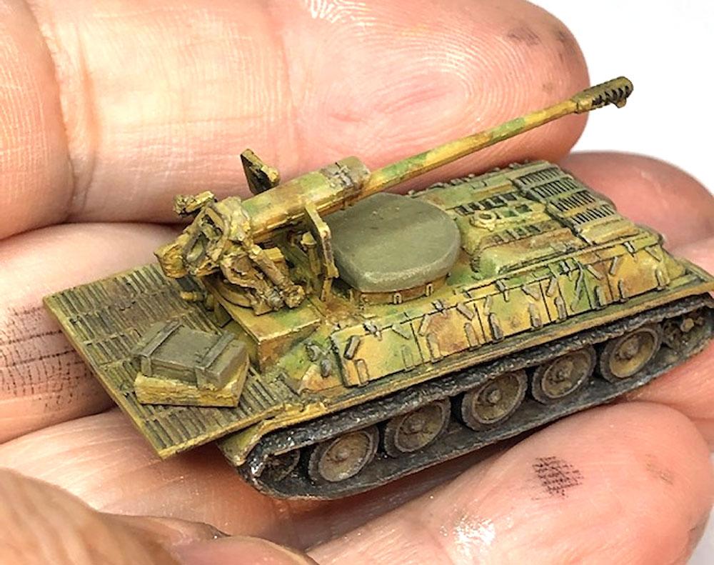 シリア陸軍 T-34/D-30 自走砲レジン(マツオカステン1/144 オリジナルレジンキャストキット (AFV)No.MTUAFV-113)商品画像_4