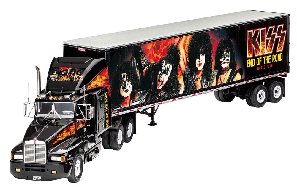 ツアートラック KISS END OF THE ROAD ワールドツアープラモデル(レベル1/32など カーモデルNo.07644)商品画像_3