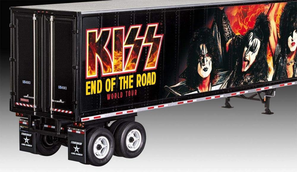 ツアートラック KISS END OF THE ROAD ワールドツアープラモデル(レベル1/32など カーモデルNo.07644)商品画像_4