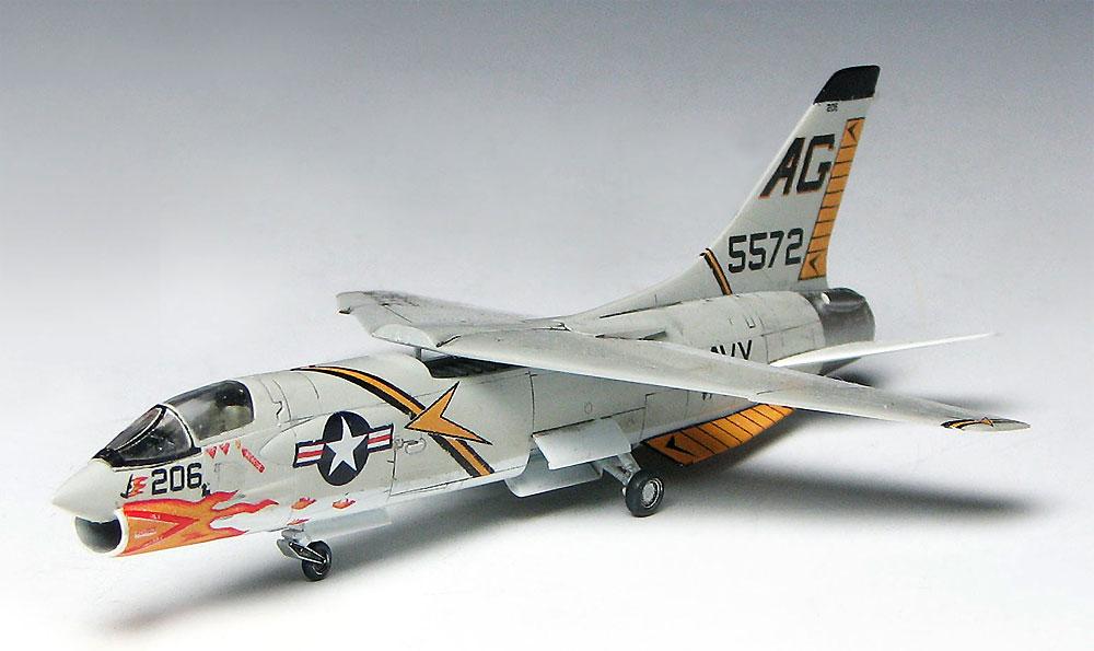 F8U-2 クルセイダー ジョリーロジャースプラモデル(プラッツ1/144 プラスチックモデルキットNo.PDR-006)商品画像_3