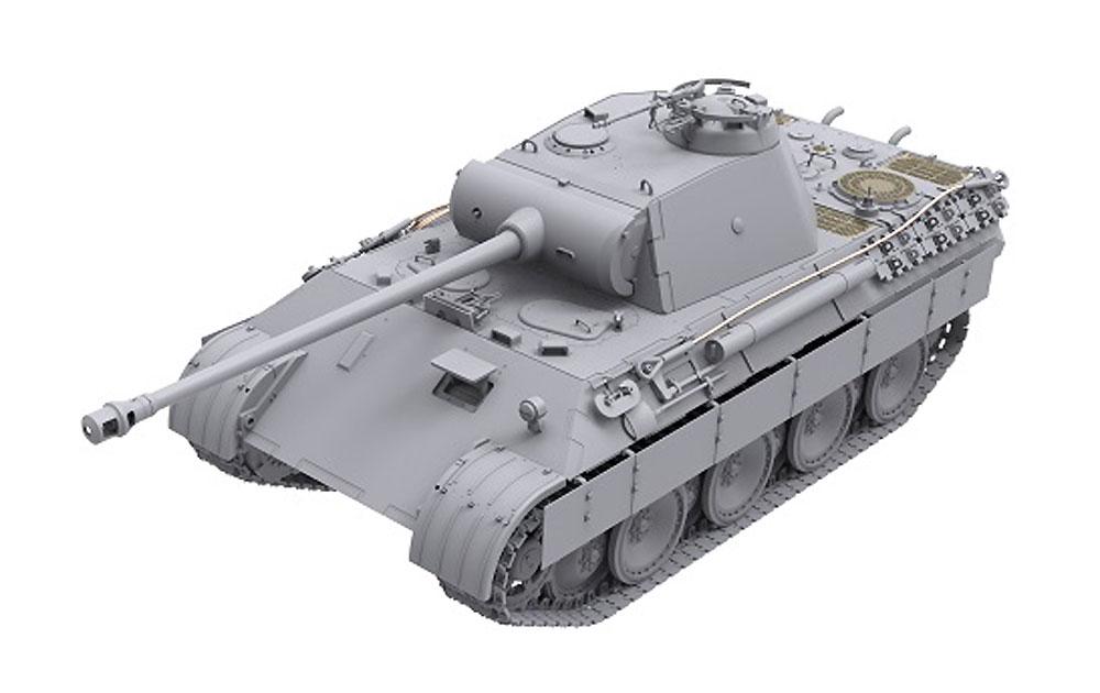 ドイツ 中戦車 パンターA 前期型プラモデル(ダス ヴェルク1/35 ミリタリーNo.DW35009)商品画像_2