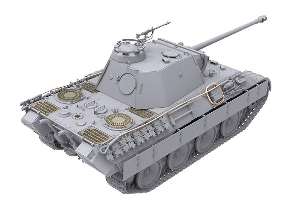 ドイツ 中戦車 パンターA 前期型プラモデル(ダス ヴェルク1/35 ミリタリーNo.DW35009)商品画像_3