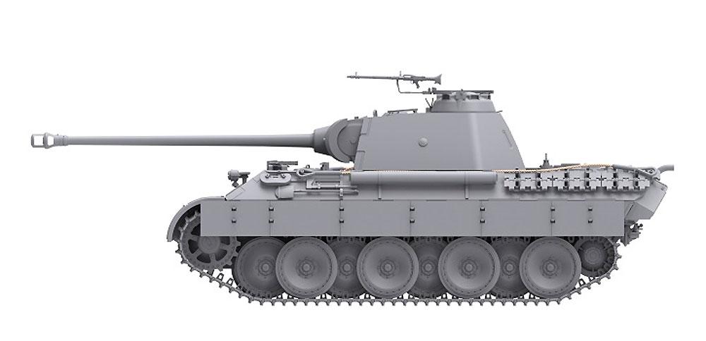 ドイツ 中戦車 パンターA 前期型プラモデル(ダス ヴェルク1/35 ミリタリーNo.DW35009)商品画像_4