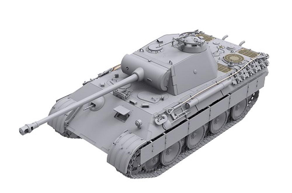 ドイツ 中戦車 パンターA 前期/中期型プラモデル(ダス ヴェルク1/35 ミリタリーNo.DW35010)商品画像_2