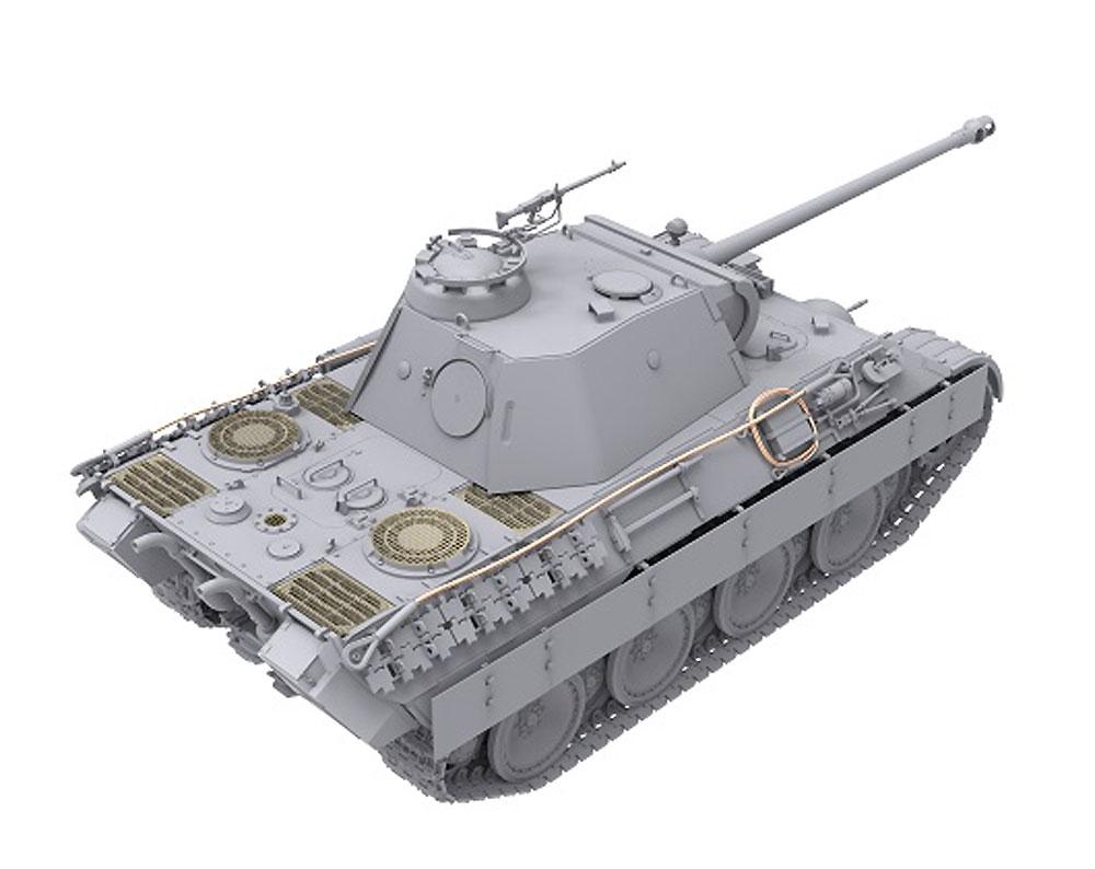 ドイツ 中戦車 パンターA 前期/中期型プラモデル(ダス ヴェルク1/35 ミリタリーNo.DW35010)商品画像_3