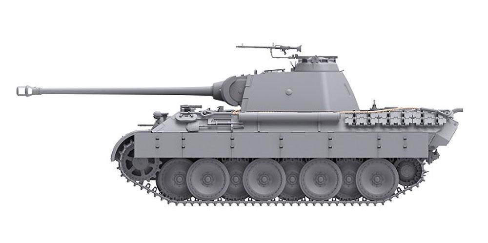ドイツ 中戦車 パンターA 前期/中期型プラモデル(ダス ヴェルク1/35 ミリタリーNo.DW35010)商品画像_4