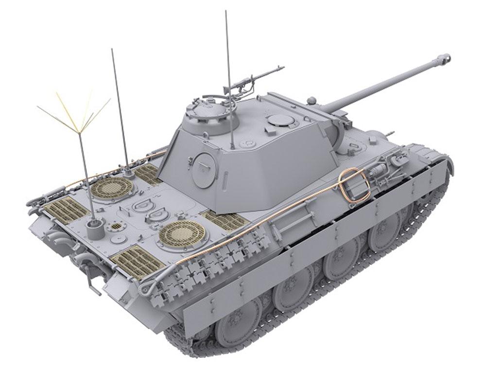 ドイツ 中戦車 パンターA 後期型 2in1プラモデル(ダス ヴェルク1/35 ミリタリーNo.DW35011)商品画像_3