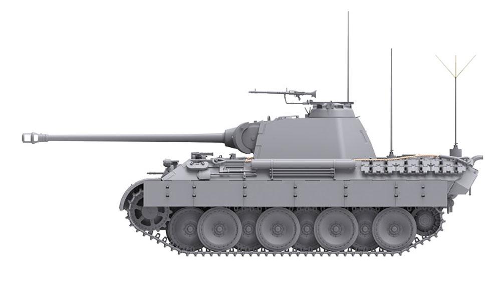 ドイツ 中戦車 パンターA 後期型 2in1プラモデル(ダス ヴェルク1/35 ミリタリーNo.DW35011)商品画像_4