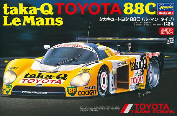 タカキュー トヨタ 88C ル・マン タイププラモデル(ハセガワ1/24 自動車 限定生産No.20416)商品画像