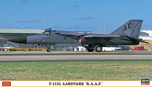 F-111G アードバーク オーストラリア空軍プラモデル(ハセガワ1/72 飛行機 限定生産No.02314)商品画像