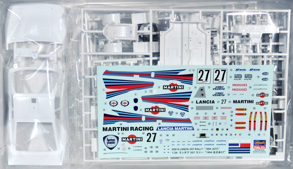 ランチア 037 ラリー 1994 全日本GTプラモデル(ハセガワ1/24 自動車 限定生産No.20414)商品画像_1