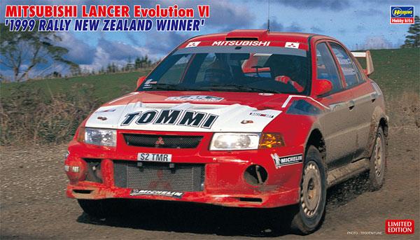 三菱 ランサー エボリューション 6 1999 ラリー ニュージーランド ウィナープラモデル(ハセガワ1/24 自動車 限定生産No.20415)商品画像