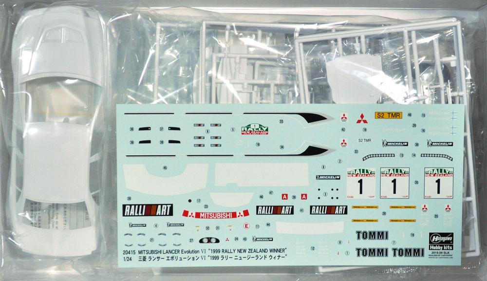 三菱 ランサー エボリューション 6 1999 ラリー ニュージーランド ウィナープラモデル(ハセガワ1/24 自動車 限定生産No.20415)商品画像_1