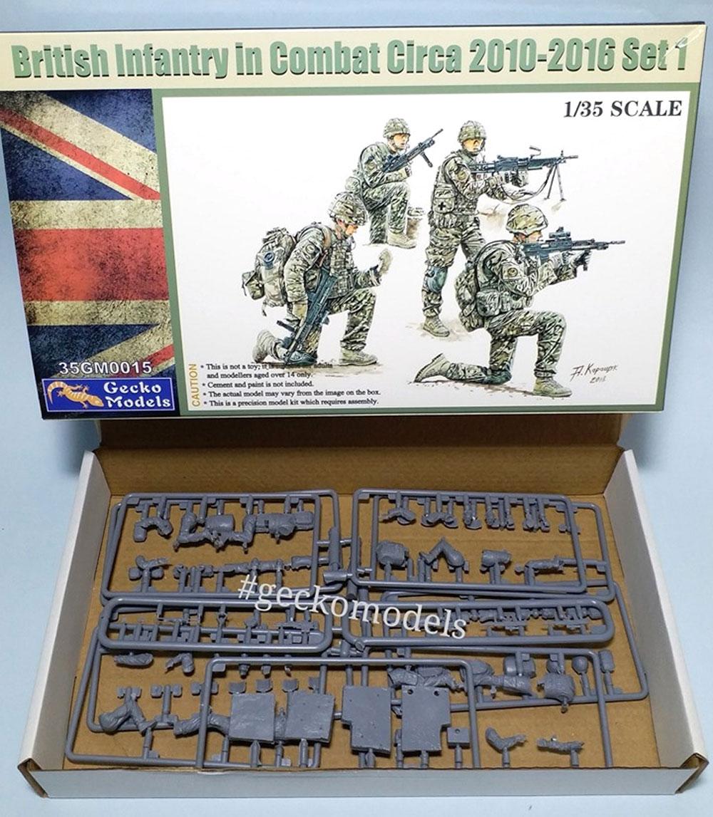 イギリス軍 歩兵 戦闘中 2010-2016年頃 セット1プラモデル(ゲッコーモデル1/35 ミリタリーNo.35GM0015)商品画像_1