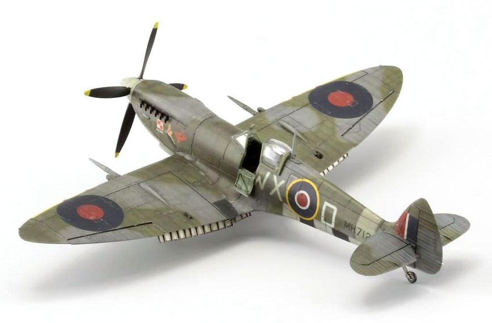 スピットファイア Mk.9c 後期型プラモデル(エデュアルド1/72 プロフィパックNo.70121)商品画像_4