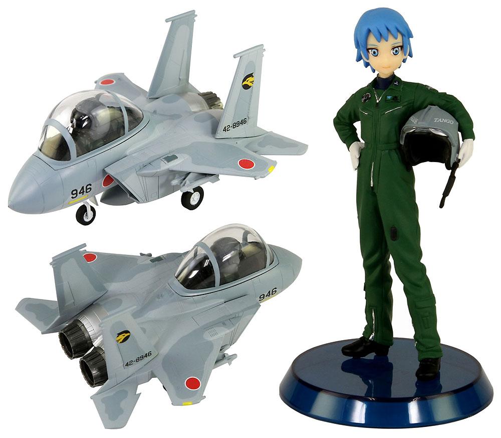 航空自衛隊 戦闘機 F-15J 自衛官 丹後美咲 3等空尉 フィギュア付き限定版プラモデル(グレートウォールホビーデフォルメプレーンNo.LDP003SP)商品画像_3