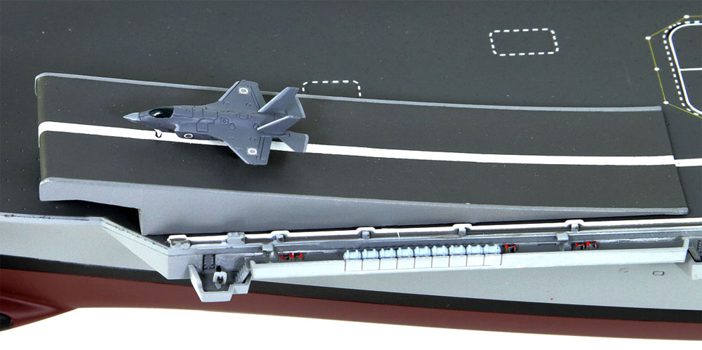 海上自衛隊 ヘリコプター搭載護衛艦 DDH-184 かが 多用途運用護衛艦 改装用 スキージャンプ甲板付き 限定版プラモデル(ピットロード1/700 スカイウェーブ J シリーズNo.J075CV)商品画像_4