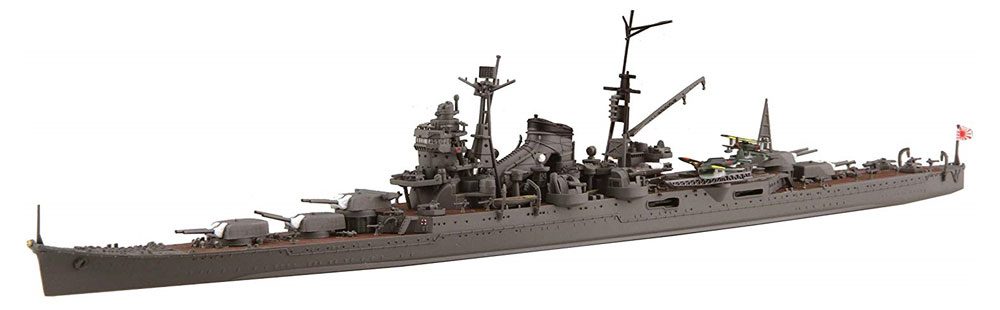 日本海軍 重巡洋艦 鈴谷 昭和19年/捷一号作戦プラモデル(フジミ1/700 特シリーズNo.027)商品画像_2