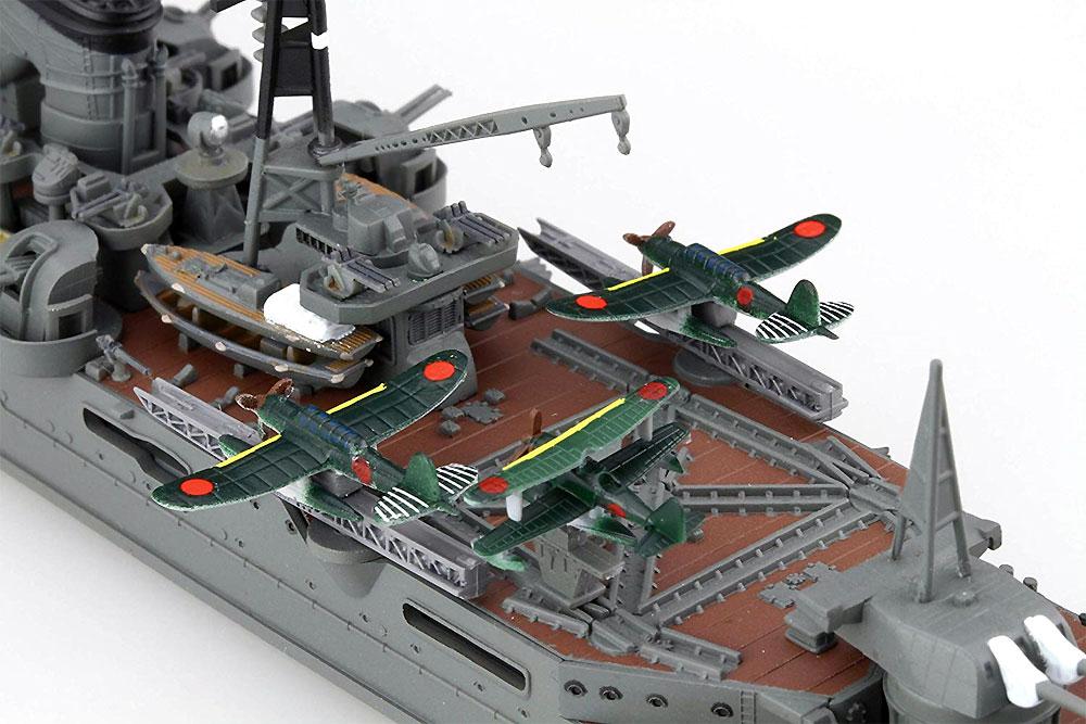 日本海軍 重巡洋艦 鈴谷 昭和19年/捷一号作戦プラモデル(フジミ1/700 特シリーズNo.027)商品画像_4