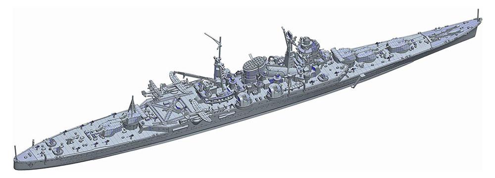 日本海軍 重巡洋艦 熊野 昭和19年/捷一号作戦プラモデル(フジミ1/700 特シリーズNo.065)商品画像_2