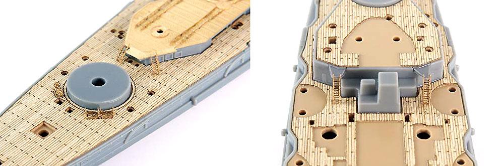 日本海軍 戦艦 榛名 木甲板シール & 艦名プレート甲板シート(フジミ1/700 艦船模型用グレードアップパーツNo.艦NEXT015EX-101)商品画像_3