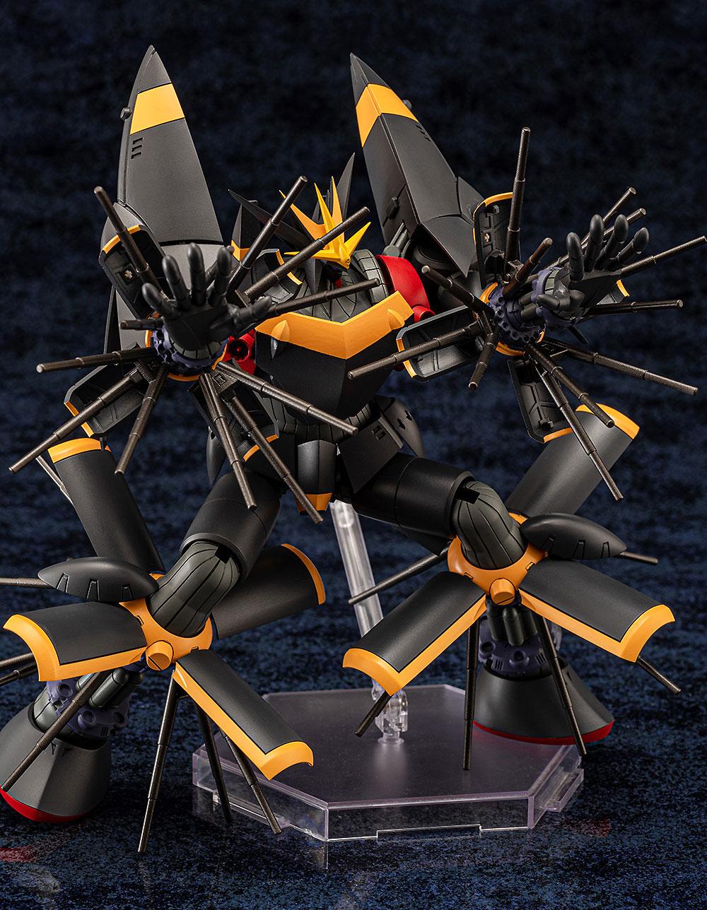 ガンバスター (トップをねらえ!)プラモデル(アオシマACKS (アオシマ キャラクターキット セレクション)No.TN-001)商品画像_1