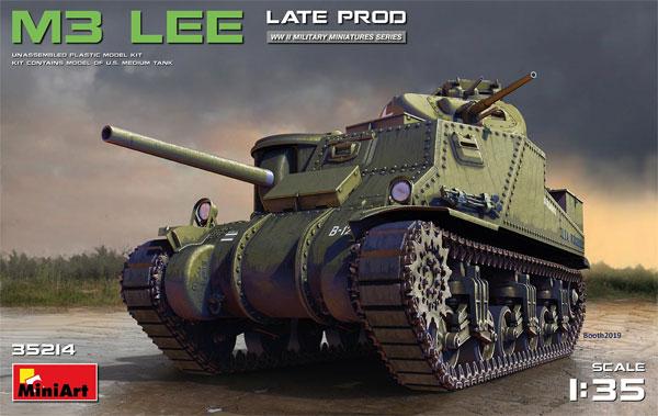 M3 リー 後期型プラモデル(ミニアート1/35 WW2 ミリタリーミニチュアNo.35214)商品画像