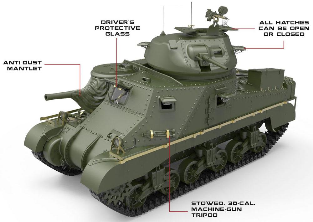 グラント Mk.1プラモデル(ミニアート1/35 WW2 ミリタリーミニチュアNo.35276)商品画像_1