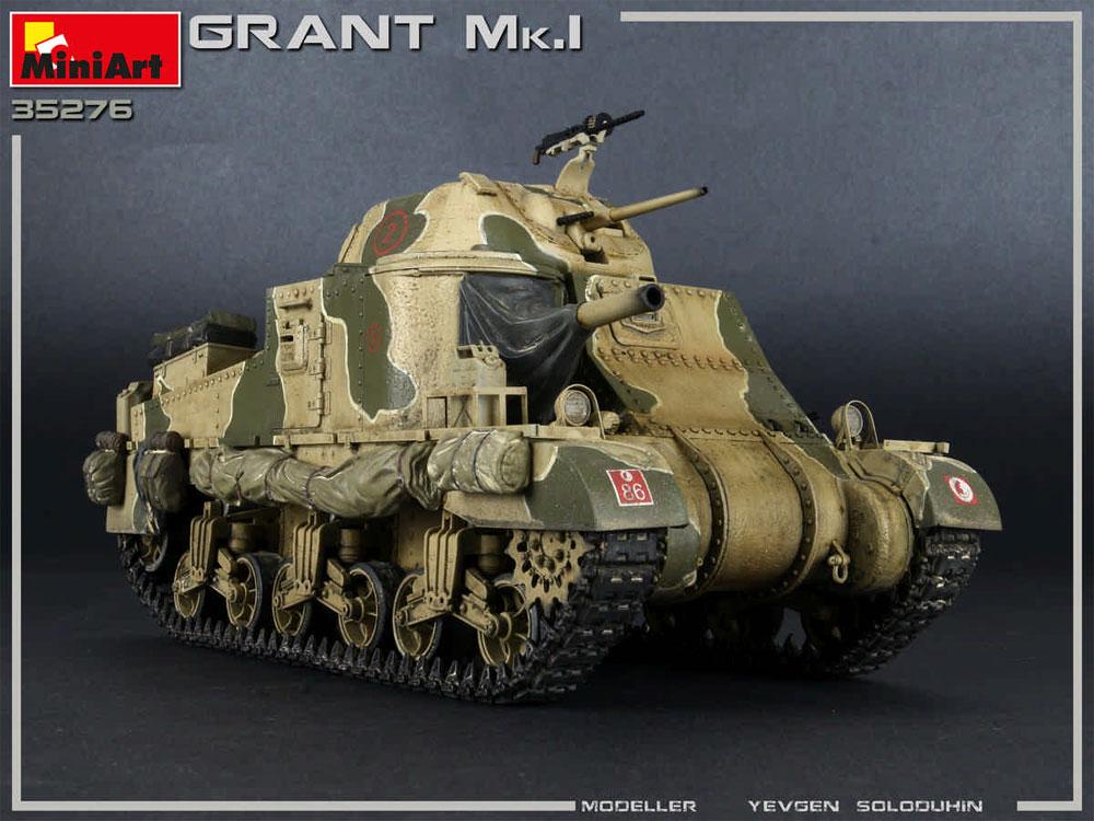グラント Mk.1プラモデル(ミニアート1/35 WW2 ミリタリーミニチュアNo.35276)商品画像_4