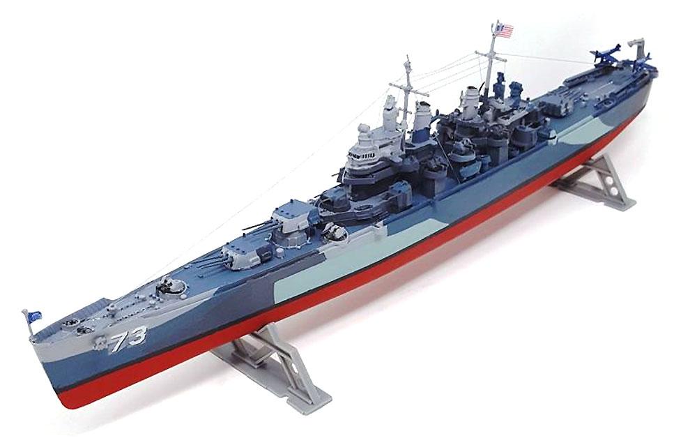 アメリカ海軍 重巡洋艦 ピッツバーグ CA-72 (旧レベル)プラモデル(アトランティスプラスチックモデルキットNo.H457)商品画像_2