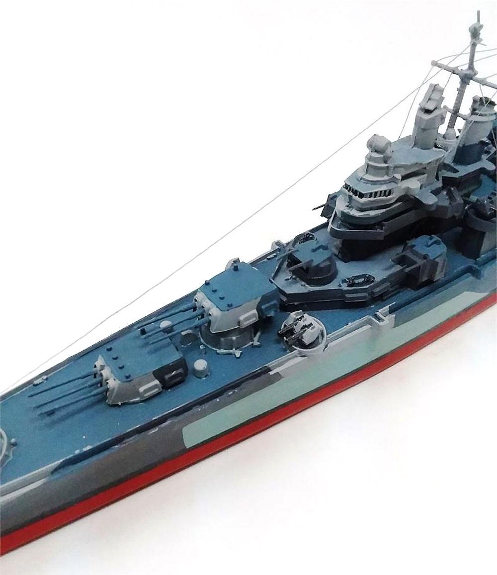 アメリカ海軍 重巡洋艦 ピッツバーグ CA-72 (旧レベル)プラモデル(アトランティスプラスチックモデルキットNo.H457)商品画像_3