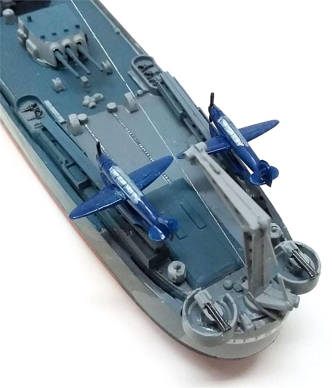 アメリカ海軍 重巡洋艦 ピッツバーグ CA-72 (旧レベル)プラモデル(アトランティスプラスチックモデルキットNo.H457)商品画像_4