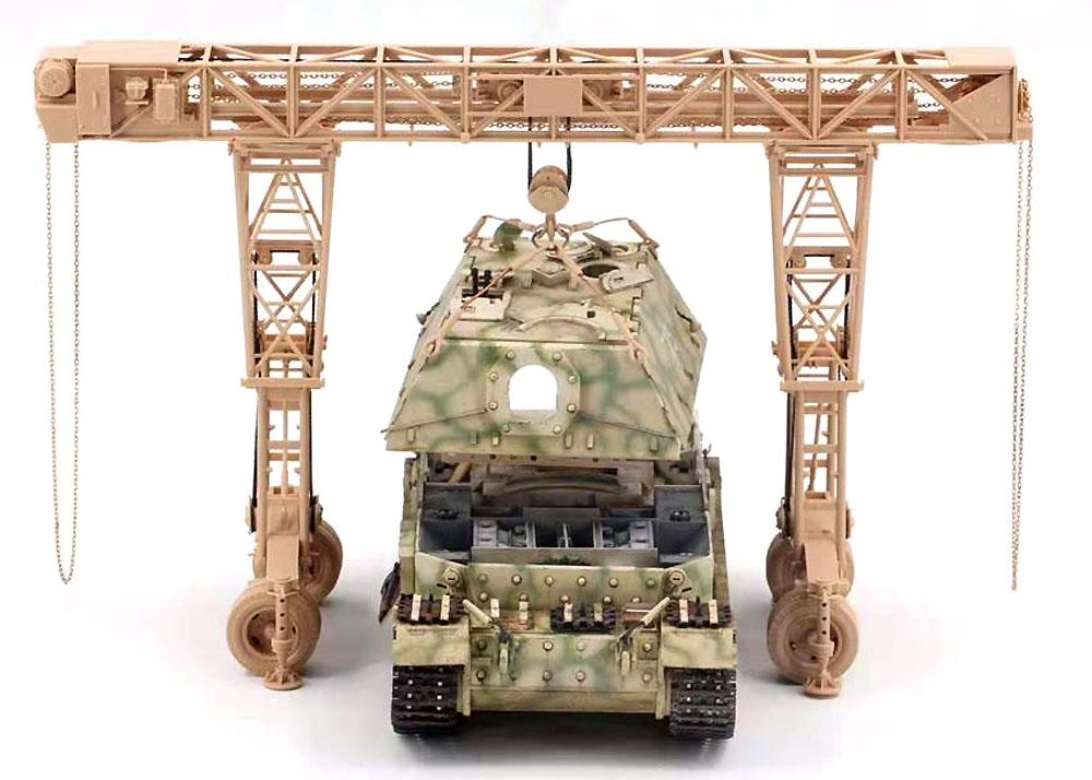 ドイツ 重駆逐戦車 フェルディナント (フルインテリア) & 16t ストラボクレーンプラモデル(アミュージングホビー1/35 ミリタリーNo.35A030)商品画像_4