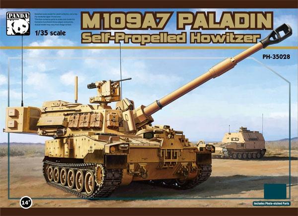 M109A7 自走榴弾砲 w/金属履帯 & フィギュアプラモデル(パンダホビー1/35 CLASSICAL SCALE SERIESNo.PH35028)商品画像