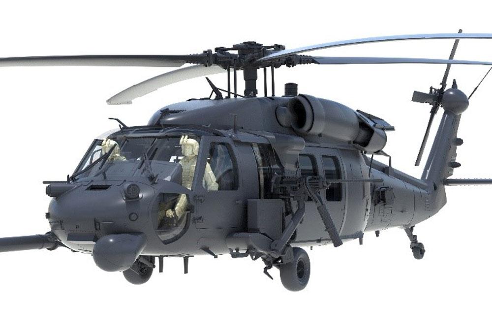 HH-60G ペイブホーク w/パイロットフィギュアプラモデル(キティホーク1/35 エアモデルNo.KH50006)商品画像_2