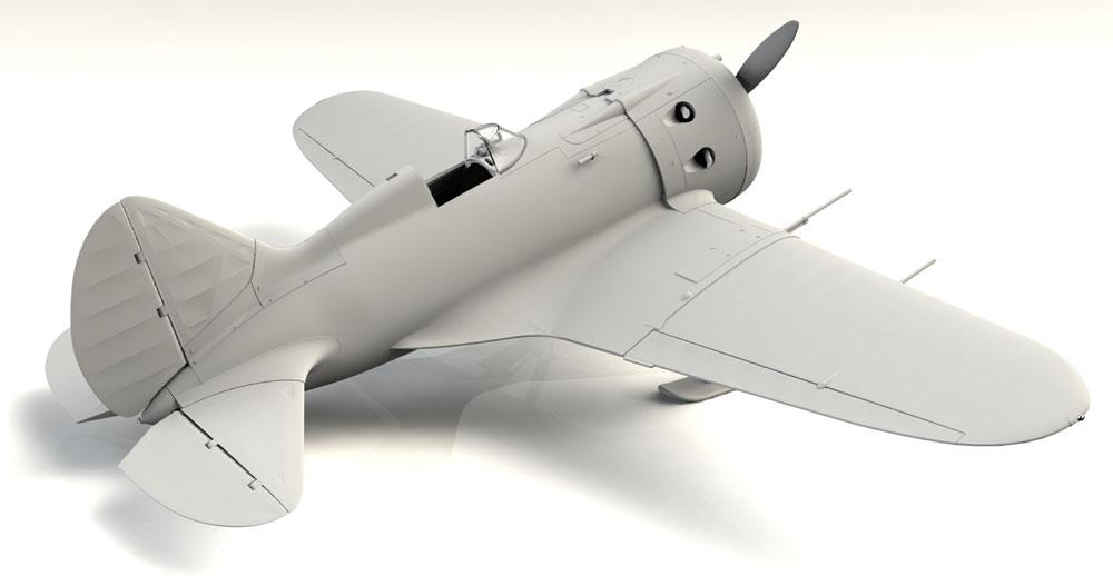 ポリカルポフ I-16 タイプ17プラモデル(ICM1/32 エアクラフトNo.32005)商品画像_3