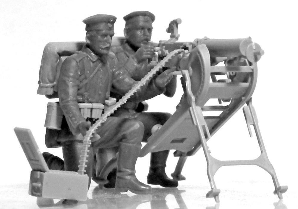 WW1 ドイツ MG08 MGチームプラモデル(ICM1/35 ミリタリービークル・フィギュアNo.35711)商品画像_1