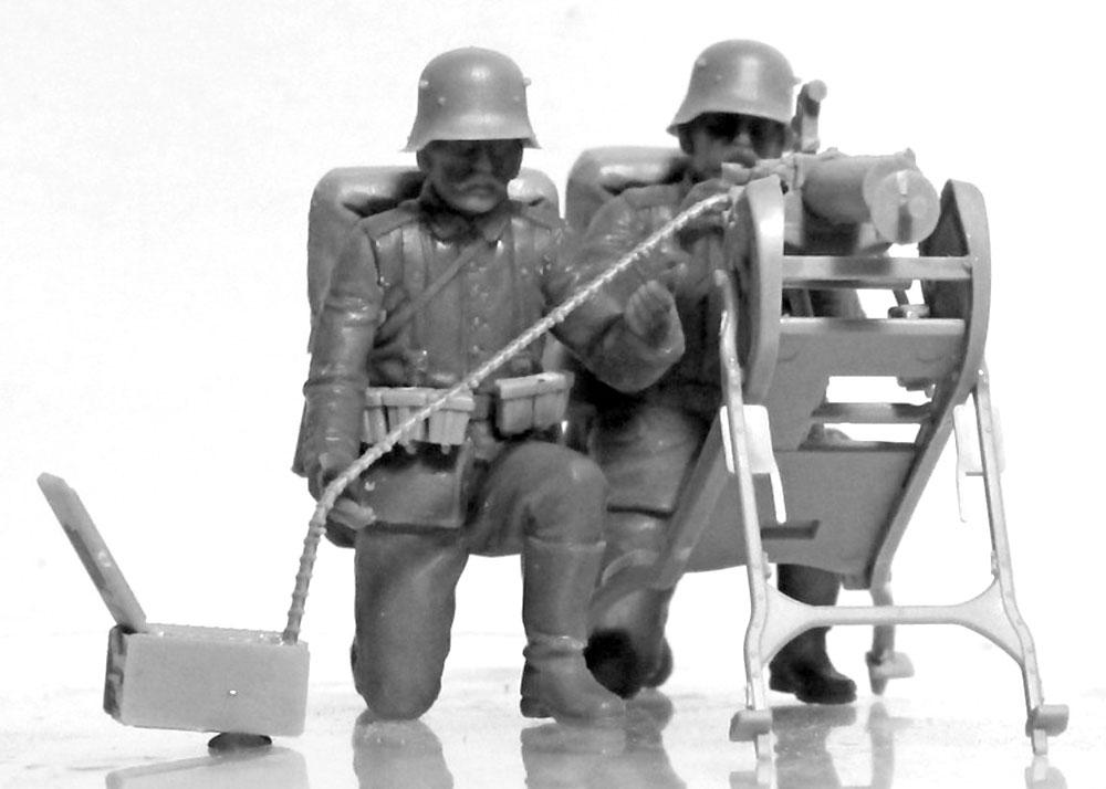 WW1 ドイツ MG08 MGチームプラモデル(ICM1/35 ミリタリービークル・フィギュアNo.35711)商品画像_4