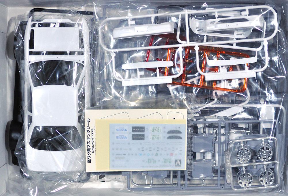 ニッサン PS13 シルビア K's ダイヤ・パッケージ '91プラモデル(アオシマ1/24 ザ・モデルカーNo.013)商品画像_1