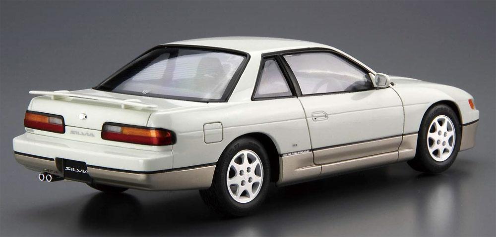 ニッサン PS13 シルビア K's ダイヤ・パッケージ '91プラモデル(アオシマ1/24 ザ・モデルカーNo.013)商品画像_3