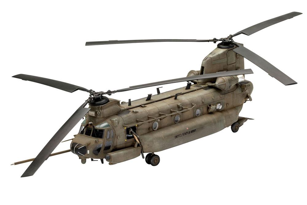 MH-47E チヌークプラモデル(レベル1/72 AircraftNo.03876)商品画像_1