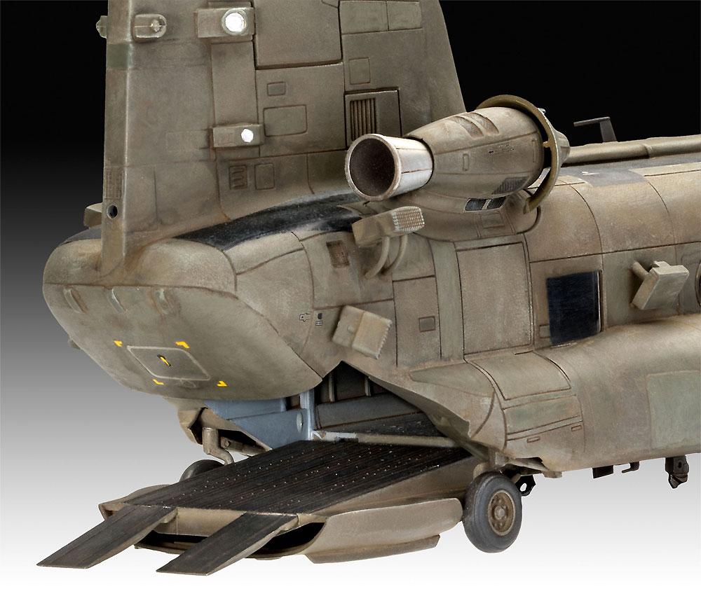 MH-47E チヌークプラモデル(レベル1/72 AircraftNo.03876)商品画像_4