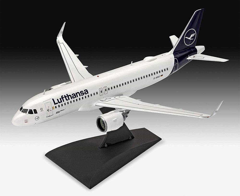 エアバス A320neo ルフトハンザ New Liveryプラモデル(レベル1/144 旅客機No.03942)商品画像_1