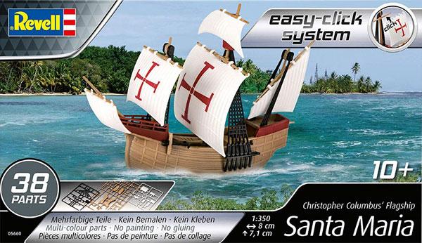 サンタ マリアプラモデル(レベル帆船 (Sailing Ships)No.05660)商品画像