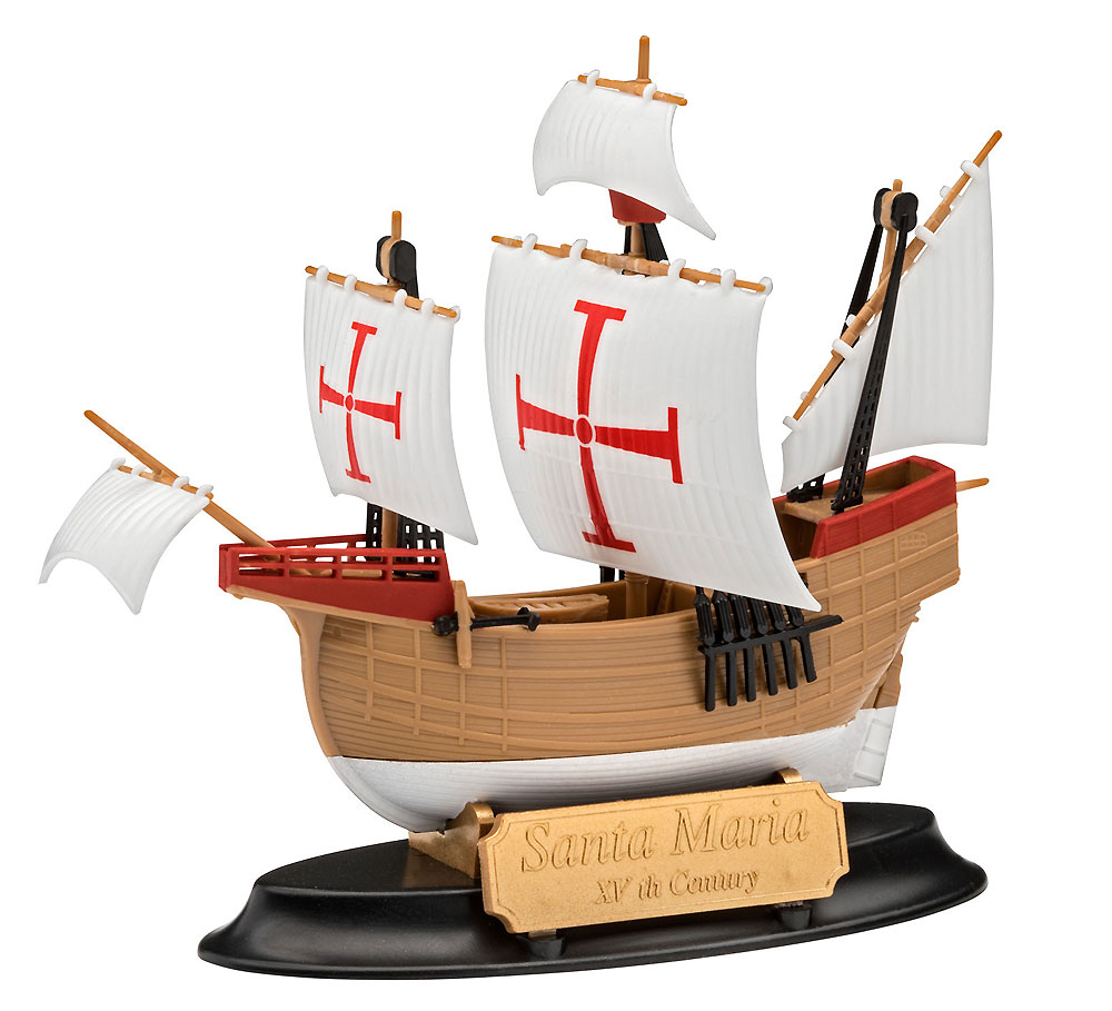 サンタ マリアプラモデル(レベル帆船 (Sailing Ships)No.05660)商品画像_2