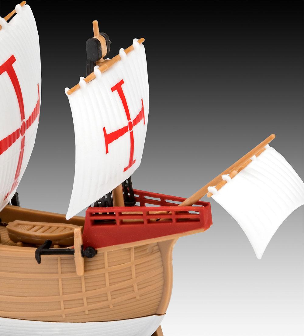 サンタ マリアプラモデル(レベル帆船 (Sailing Ships)No.05660)商品画像_3