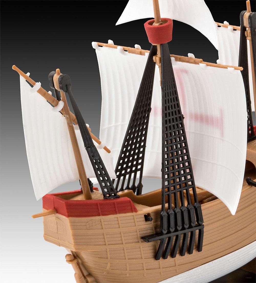 サンタ マリアプラモデル(レベル帆船 (Sailing Ships)No.05660)商品画像_4